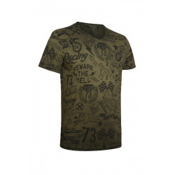 ACERBIS triko STREET - maskáč